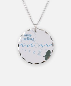 alseep but dreaming2 copy co Necklace