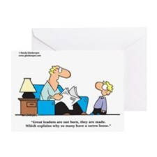 screw_loose Greeting Card