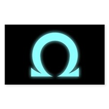 Omega Rectangle Decal