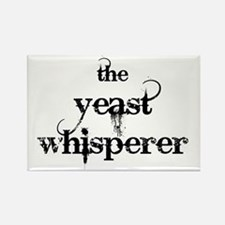 yeast whisperer 2000 black Rectangle Magnet