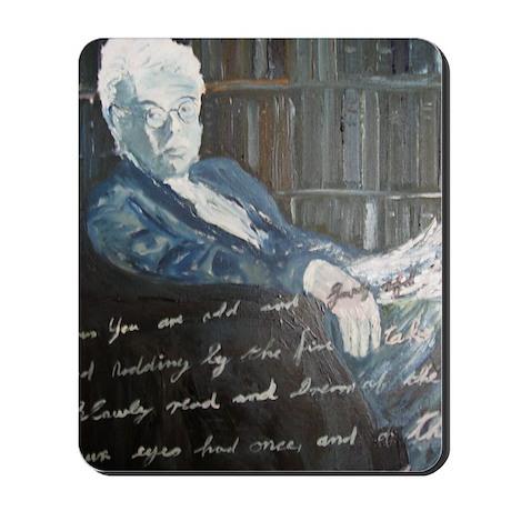 W.B. Yeats Mousepad
