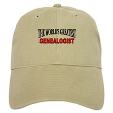"""The World's Greatest Genealogist"" Baseball Cap"