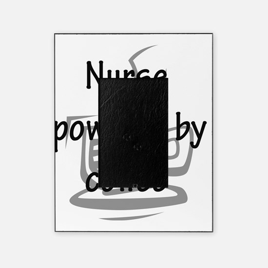 nurse and coffee copy Picture Frame