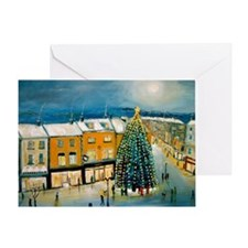 Christmas in Dublin Greeting Card