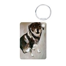 Isabell Aluminum Photo Keychain