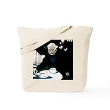 Beckett in Paris Cafe Tote Bag