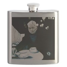 Beckett in Paris Cafe Flask