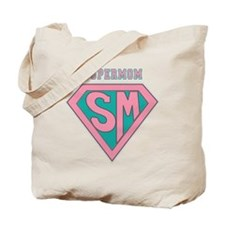 Supermom-pink Tote Bag