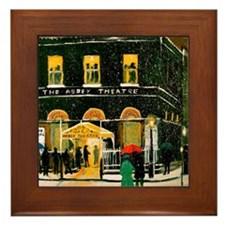 The Abbey Theatre Framed Tile