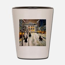 City Hall Shot Glass