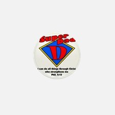 superdad-diamond-phil Mini Button