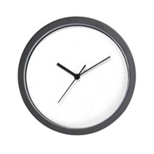 WWJWD new white only Wall Clock