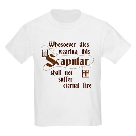 BrownScapular Kids T-Shirt