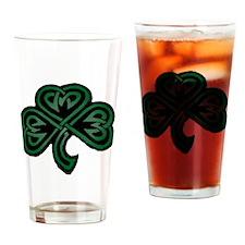 Clover_Art Drinking Glass