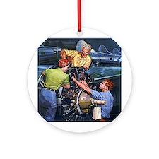 Maintenance Ornament (Round)