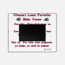 obamas least favorite bible verses Picture Frame