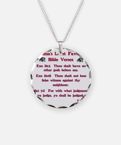 obamas least favorite bible  Necklace