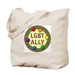 Ally Baubles -LGBT- Tote Bag