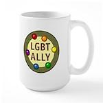 Ally Baubles -LGBT- Large Mug