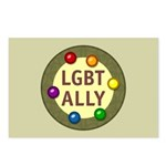 Ally Baubles -LGBT- Postcards (Package of 8)