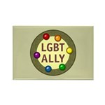 Ally Baubles -LGBT- Rectangle Magnet (100 pack)
