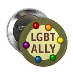 "Ally Baubles -LGBT- 2.25"" Button (10 pack)"