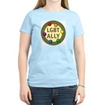 Ally Baubles -LGBT- Women's Light T-Shirt