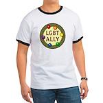 Ally Baubles -LGBT- Ringer T