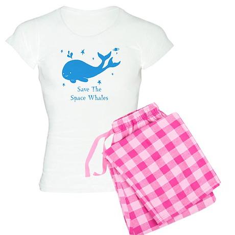 space whale2 Women's Light Pajamas