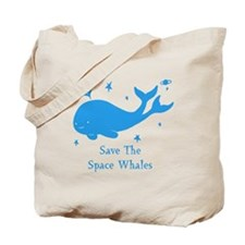 space whale2 Tote Bag