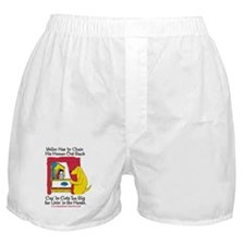 Yeller Chains Boxer Shorts