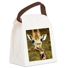 Giraffe Canvas Lunch Bag