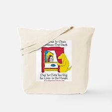 Yeller Chains Tote Bag