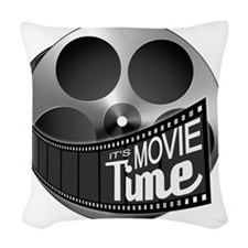 IMT Logo Woven Throw Pillow