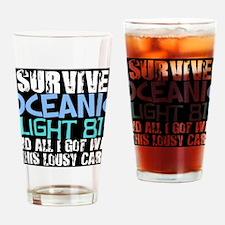 oceanicflightcard Drinking Glass