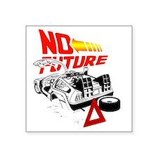 """NoFuture_complete Square Sticker 3"""" x 3"""""""