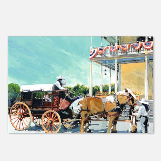 Stagecoach Old Town San D Postcards (Package of 8)