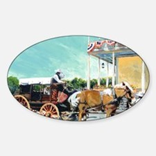 Stagecoach Old Town San Diego by RD Decal