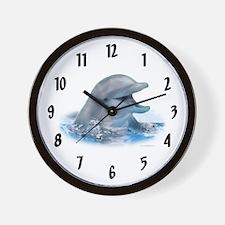 Happy Dolphin Wall Clock