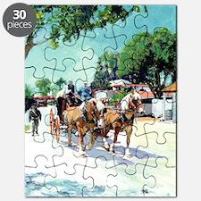 Stagecoach on Calhoun Street San Diego by R Puzzle