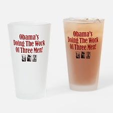 obama 3_men_t Drinking Glass
