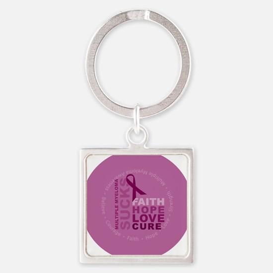 mom-mma-button02-lg4a.eps Square Keychain