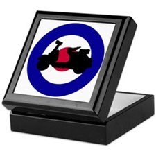 mod_target_scooter_side Keepsake Box