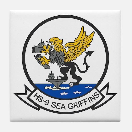 hs9_sea_griffins Tile Coaster