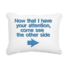 haveurattention Rectangular Canvas Pillow