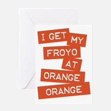 FroYo Greeting Card