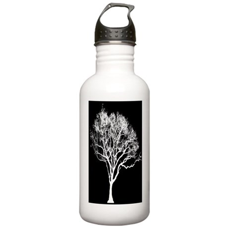 White Tree Stainless Water Bottle 1.0L