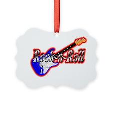 Rock n Roll Ornament