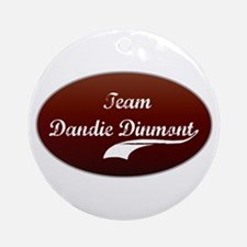 Team Dandie Ornament (Round)