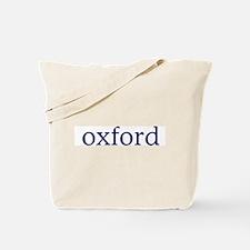 Oxford Tote Bag